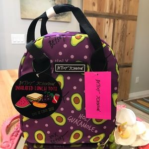 Betsey Johnson Insulated Lunch Tote-NWT